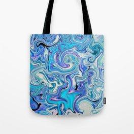 fluid sea Tote Bag