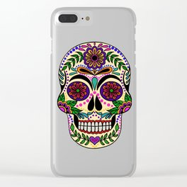Día de muertos Clear iPhone Case