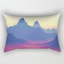 Mountains of Another World Rectangular Pillow