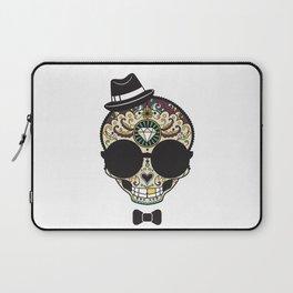 Blind Sugar Skull Laptop Sleeve