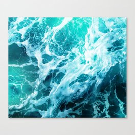Out there in the Ocean Canvas Print