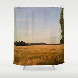 Wheat field Shower Curtain