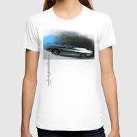lamborghini T-shirts featuring Lamborghini Espada by Vadim Artemyev