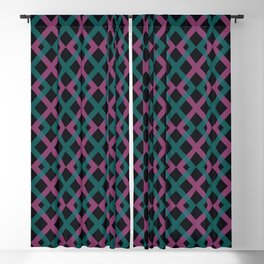 Lattice Pattern Blackout Curtain