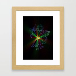 Heavenly apparition 3 Framed Art Print