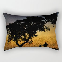 Grandpa - Tell Me About The Good Old Days Rectangular Pillow