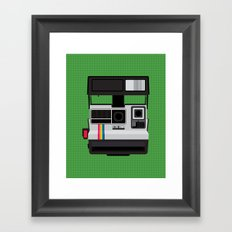 Polaroid Supercolor 635CL Framed Art Print