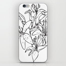 Day Lilies #2 iPhone Skin
