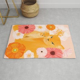 Mother Lion and cub II Rug