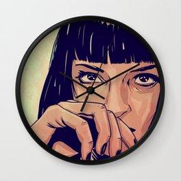 Mia Wallace Wall Clock