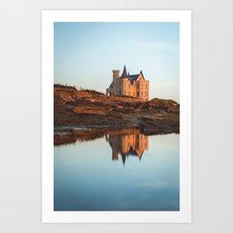 Le château Turpault Art Print