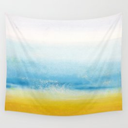 Waves and memories Wall Tapestry