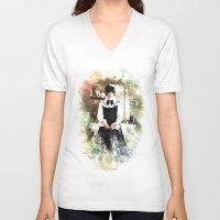 lolita V-neck T-shirts featuring Lolita DaVinci by © maya lavda / wocado