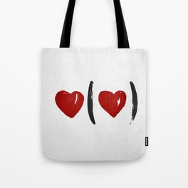 I Carry Your Heart with Me (I Carry It in My Heart) Tote Bag