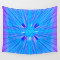 cracked Wall Tapestries featuring Cracked! by Shawn King