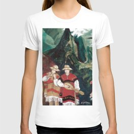 The ANDES             by Kay Lipton T-shirt