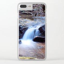 Curtis Falls Cascades Clear iPhone Case