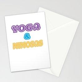 YOGA & MIMOSAS Stationery Cards