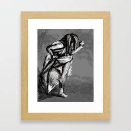 3.18 Gestures Framed Art Print