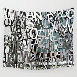Alphabet Jumble Wall Tapestry