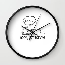 Funny Dog Loafers Wall Clock