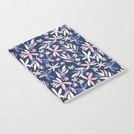 Graphic Florals Notebook