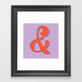 Ampersand Stories 4 Framed Art Print