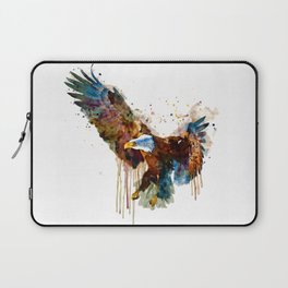 Free and Deadly Eagle Laptop Sleeve