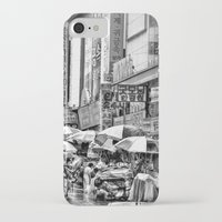 korean iPhone & iPod Cases featuring Korean Rain by Anthony M. Davis