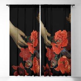 Jan Davidsz. de Heem Midnigh Hand Holding Bouquet Of Flowers I Blackout Curtain