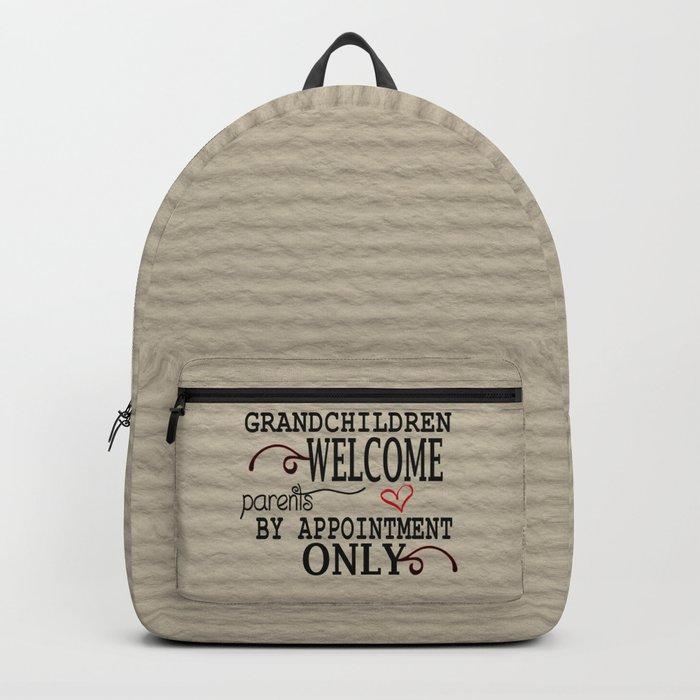 Grandchildren Welcome Backpack