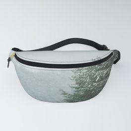 Forest in winter Fanny Pack