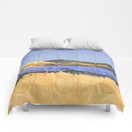 Lake in Marin County Comforters