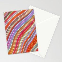 Wild Wavy Lines IX Stationery Cards