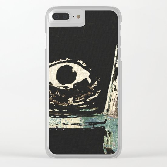 Zumbi dos Palmares 2 Clear iPhone Case
