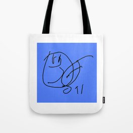 Hey Baby BW #1 Tote Bag