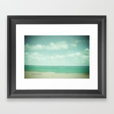 Follow Your Bliss Framed Art Print