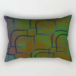Dark Mermaid Rectangular Pillow