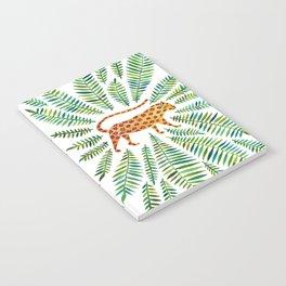 Jaguar – Green Leaves Notebook