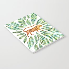 Jaguar – Green Leaves Notebook