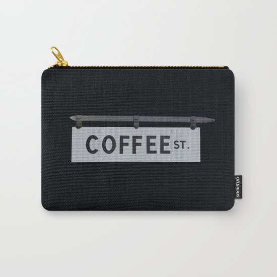Coffee St. Carry-All Pouch