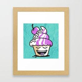 Happy Cakes Framed Art Print