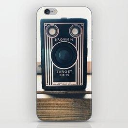 Vintage Camera - Kodak Brownie iPhone Skin