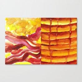 Bakin', Ehgz, and Panckes Canvas Print