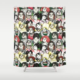 BOTERO Shower Curtain