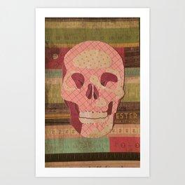 Skull 001 Art Print