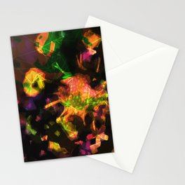 abstract 005. sunset Stationery Cards