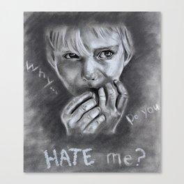 UNLOVED Canvas Print