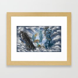 The Allegory of the Chariot Framed Art Print