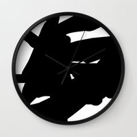 mother Wall Clocks featuring mother by ARTbyJWP